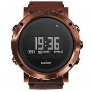 Suunto SS021213000 Mens Digital Dial Watch With Leather Strap