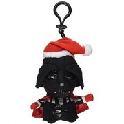 Underground Toys Star Wars Mini Santa Darth Vader Talking 4 Plush