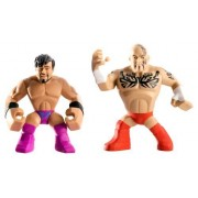 WWE Rumblers Tensai and Justin Gabriel Action Figure, 2-Pack by Mattel (English Manual)