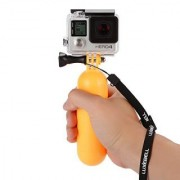 Luxebell Waterproof Floating Hand Grip Handle Mount for Gopro Hero 4 Session Black Silver Hero+ LCD 3+ 3 2 Camera and Sjcam Sj4000 Sj5000 - Save Your Device From Sinking