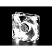 Cooler Master Ventola con Luce Bianca a LED, 80 x 80 mm