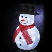 Eminza Pupazzo di neve e berretto nero luminoso