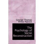 The Psychology of Social Reconstruction by George Thomas White Patrick