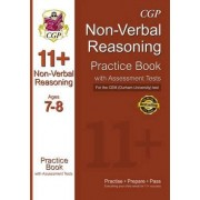 11+ Non-verbal Reasoning Practice Book with Assessment Tests (Age 7-8) for the CEM Test by CGP Books