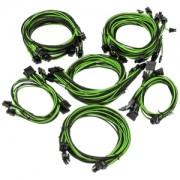 Kit cabluri modulare Super Flower Pro Black/Green