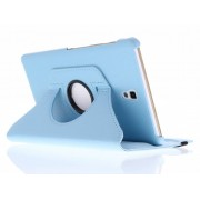 Turquoise 360° draaibare tablethoes voor de Samsung Galaxy Tab S 8.4
