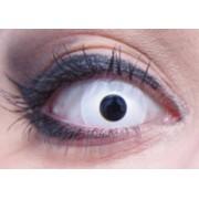 Vegaoo Vita ögonlinser för vuxna One-size