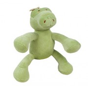 GARY ALLIGATOR (6in) 15cm (Green) PETITE PLUSH SQUEAKER FOR DOGS