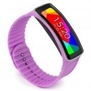 Pulseira Tuff-luv para Samsung Galaxy Gear Fit - Roxo
