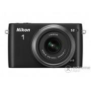 Aparat foto Nikon 1 S2 (obiectiv 11-27,5mm), negru