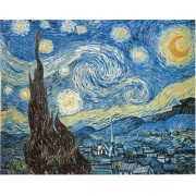 Starry Night Van Gogh Jigsaw Puzzle 2000pc by Clementoni