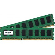 Crucial - Memoria RAM 2GB PC3-12800 Kit, CT2KIT12864BA160B