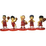 Slam Dunk Bandai Mini Cartoon Figure Collection Display Toy Set-5-Pieces