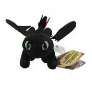 How To Train Your Dragon Plush 9 / 23cm Small Toothless Doll Stuffed Animals Figure Soft Anime Collection Toy By Latim