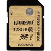 Card de Memorie Kingston Secure Digital Xtreme 128GB SDXC Clasa 10 UHS-I