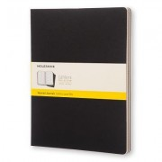 Moleskine Cahier Journal Extra Extra Large Squared Black