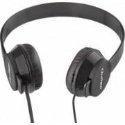 Casti Audio cu Microfon Qoltec Negru 50811