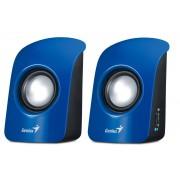 Boxe SP-U115, 2.0, 1.5W RMS, Negru/Albastru