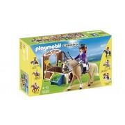 Playmobil 5520 - Paddock con Cavallo Purosangue e Fantina