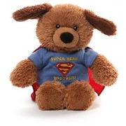 Gund Griffin DC Comics Superman Brother T-shirt Plush Dog Plush