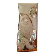 Icona San Francesco di Paola in argento 061034L