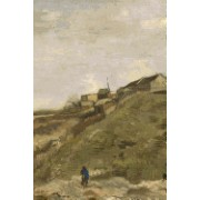 The Hill of Montmartre with Stone Quarry: Lined / Ruled Journal (Notebook, Composition Book) 160 Pages, 6x9 Inch (15.24 X 22.86 CM) Laminated