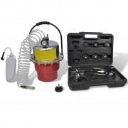 vidaXL Инструмент за обезвъздушаване на спирачките и съединителя