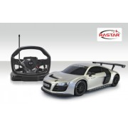 Rastar 1:18 Remote Control Audi R8 with Steering Wheel Controller, Multi Color