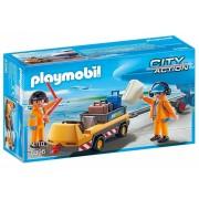 PLAYMOBIL City Action: Luchtverkeersleiders transport (5396)