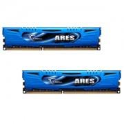 Memorie G.Skill Ares 8GB (2x4GB) DDR3 PC3-17000 CL9 1.65V 2133MHz Intel Z97 Ready Dual Channel Kit Low Profile, F3-2133C9D-8GAB