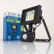 Projetor LED 10w»50W Luz Natural 800Lm SENSOR SLIM PR