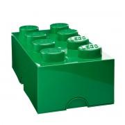 Lego - Storage Brick 8, dunkelgrün