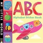 ABC Alphabet Sticker Book by Jonathan Litton