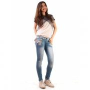 Jeans Totally Chained Light Blue