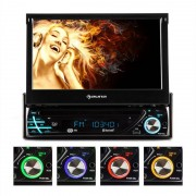 Auna MVD-220 Autorádio com display MP3 USB DVD SD Bluetooth
