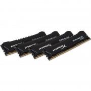 Memorie HyperX Savage Black 64GB DDR4 2400 MHz CL14 Quad Channel Kit