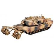 Trumpeter 01535 - Modellino carro armato M1A1/A2 Abrams 5 in 1