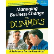 Managing Business Change For Dummies by Beth Evard