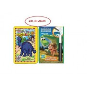 Magnetic Dinosaurs and The Good Dinosaur Invisible Ink & Sticker Puzzles