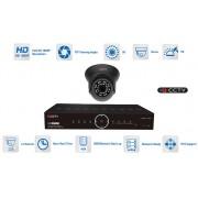 Kamerové sety AHD 1x kamera 1080P s 20m IR a hybridní DVR
