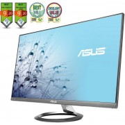 "Monitor IPS LED Asus 27"" MX27AQ, WQHD (2560 x 1440), HDMI, DisplayPort, 5 ms GTG, Boxe B&O ICEpower, Flicker free, Low Blue Light, TUV certified (Negru) + Lantisor placat cu aur cu pandantiv in forma de lup de mare"