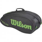 Wilson – BLX Tour Molded Racketbag pack of 6 negru/lime