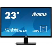 iiyama ProLite XU2390HS-B1 23' ULTRA slim LINE LED LCD 1920x1080 IPS 250 cd/m² 5M:1 ACR speakers VGA DVI & HDMI 5ms TCO6