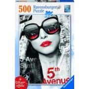 PUZZLE 5TH AVENUE FATA 500 PIESE Ravensburger