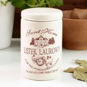 Anlux Pojemnik ceramiczny na listek laurowy SWEET HOME 0,2 l - rabat 10 zł na pierwsze zakupy!
