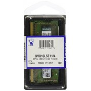 Kingston KVR16LSE11/4 Memoria RAM da 4 GB, 1600 MHz, DDR3L, ECC CL11 SODIMM, 1.35 V, 204-pin