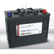Batería de gel 12 Voltios 105 Amperios Q-Batteries 12GEL-105 345mm x 170mm x 285mm