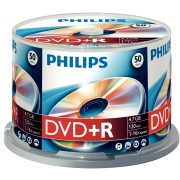DVD+R 4.7GB (50 buc. Spindle, 16x) PHILIPS