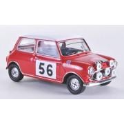 Mini Morris Cooper S, No.56, P.Hopkirk/H.Liddon, Rally Monte Carlo , 1965, Modelo de Auto, modello completo, Vitesse 1:43