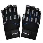 Fitnes rukavice Xplorer sivo-plave XL